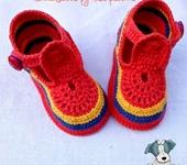 Для новорожденных - пинетки