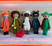 Вязаные куклы - кукла-Лалилала