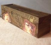 Оригинальные подарки - Короб для вина