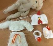 Другие куклы - Пупс Петя в костюме петушка