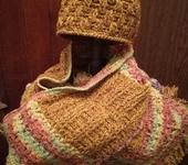 Головные уборы - Шарф и шапочка зимние