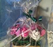 Цветы - конфетный букет