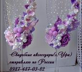 Свадебные аксессуары - свадебные бокалы