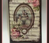 """Обложки для паспорта - Обложка """"Вальс цветов"""""""