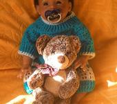 Куклы реборн - АКЦИЯ! Кукла реборн мулатик - Кристиан