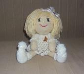Вязаные куклы - Милая малышка