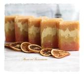 Мыло ручной работы - Шампуневое мыло «Апельсиновое»