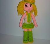 Вязаные куклы - Очаровательная малышка -Ray