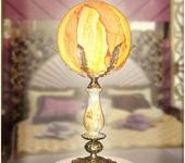 Светильники, люстры - Настольная лампа  AVRORA art. 1-02
