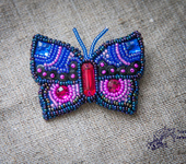 Броши - Бабочка Лорейн