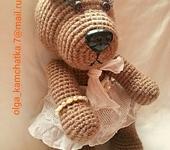 Мишки Тедди - Мишка вязаная Машутка