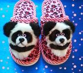 Обувь для детей - Нашивки Панды