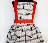 Одежда для девочек - Фартук детский Кошечки