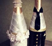 Свадебные аксессуары - Свадебное шампанское
