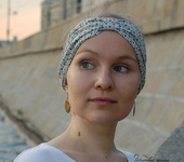 Головные уборы - Повязка на голову - стилизованный тюрбан