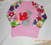 Одежда для девочек - Свитшоты с оригинальными аппликациями