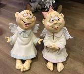 Статуэтки - Ангелы колокольчики