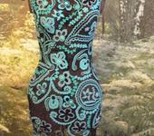 Платья - Платье Бирюза
