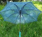 """Зонты - Ажурный зонт """"Лазурь"""""""