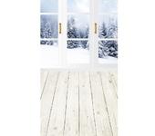 Фотография, шаржи, коллажи - Виниловый фотофон Зима (пол/стена) 50х100 см