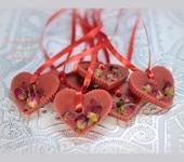 Оригинальные подарки - Флорентийское саше «Сердце Розы»