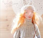 """Сказочные персонажи - Интерьерная, авторская кукла """"Мартовская зайка"""" в единственном экземпляре"""