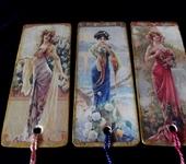 Другие аксессуары - Три закладки для книг Девушки