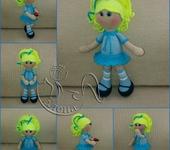 Вязаные куклы - кукла