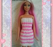 Одежда для кукол - Платье Блестка