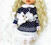 Другие куклы - Авторская коллекционная текстильная кукла «Мишель».