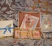 """Свадебные открытки - Открытка и конверт  """"Очарование"""""""