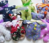 Развивающие игрушки - Текстильный мишка