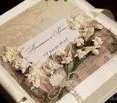Свадебные фотоальбомы - Свадебный альбом в итальянском стиле