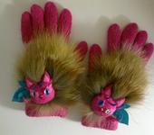 Одежда для девочек - Совиные перчатки
