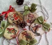 Оригинальные подарки - Набор елочных украшений