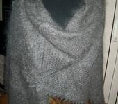 Шали, платки, палантины - Пуховая оренбургская шаль