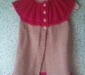 Одежда для девочек - Вязаный жилет для девочки 3-х лет