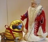 Народные куклы - Дедушка Мороз с мешком