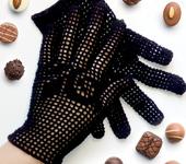 Варежки, митенки, перчатки - Вязаные перчатки
