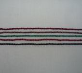 Бусины - Халцедон (гранёный) 5 цветов 4 мм  90шт