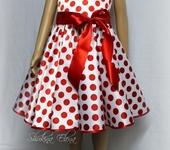 Одежда для девочек - Платье в гoрoшек