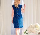 Платья - Платье/Платье из вышитого хлопка