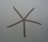 Фурнитура для бижутерии - Расширение с капелькой на конце (2 вида).  20шт