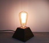 Светильники, люстры - Ретро светильник ручной работы (деревянный)