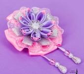 Украшения для волос - Резиночка цветок канзаши!