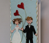 Свадебные открытки - Свадебная открытка