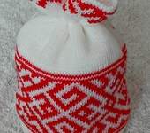 Головные уборы - Шапочка с белорусским орнаментом