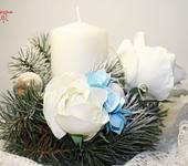 Оригинальные подарки - Новогоднее украшение для стола.