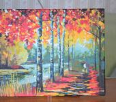 Живопись - Осенняя тропинка