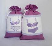 Оригинальные подарки - Мешочек для белья с вышивкой